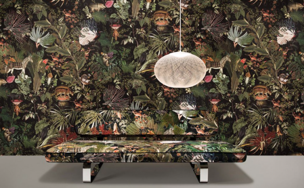 Moooi Extinct Animals wanddecoratie, behang Marcel Wanders Arte Menagerie of Extinct Animals