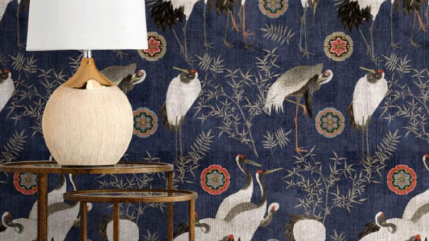 Mind the Gap behang Eclectisch wanddecoratie uniek vogels
