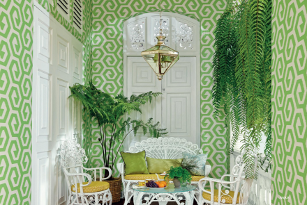 Jim Thompson wallcovering