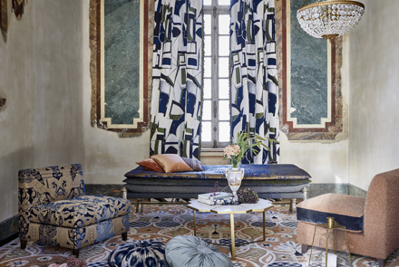 Maison Pierre Frey, fabrics, wallpaper, behang, stoffen, her-stofferen